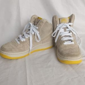 Nike Air Force One Suede High Tops, 5
